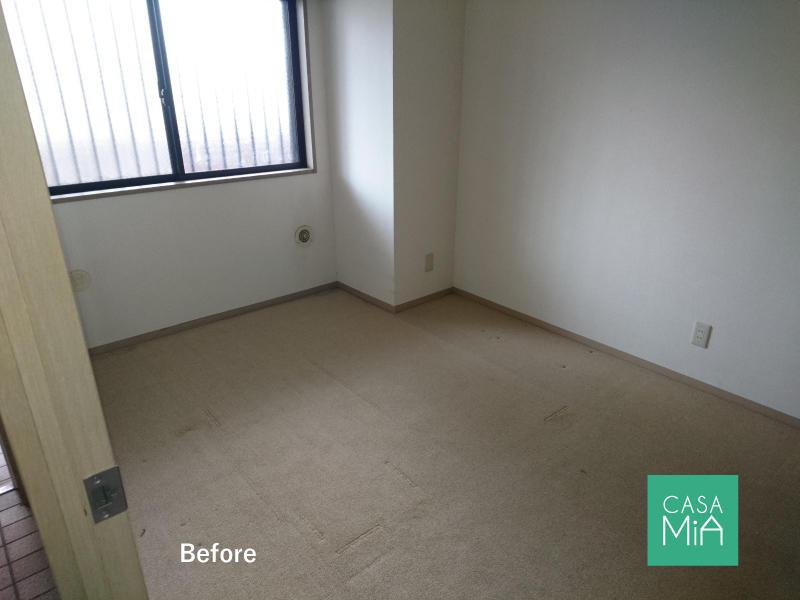 なんと洋室はカーペット敷きでした|before|パラッシオ市川中山