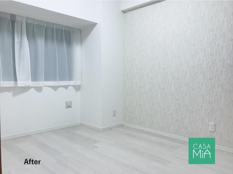 見違えるほど明るく広々した空間になった主寝室!|after|パラッシオ市川中山
