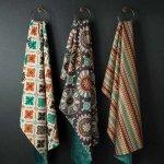 伝統的な織りが魅力のファブリックをお部屋のアクセントに♪