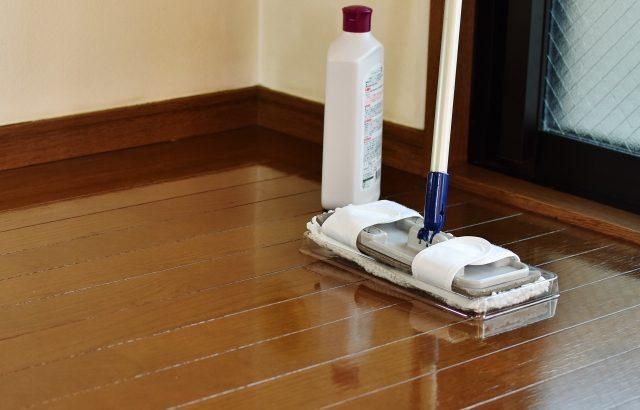 床の大掃除でピカピカに!コツを知って輝く床を取り戻そう!