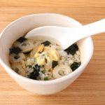 夏の冷えはお吸い物の素と生姜で対策♪「ぽかぽかだし茶漬け」&「スープ」