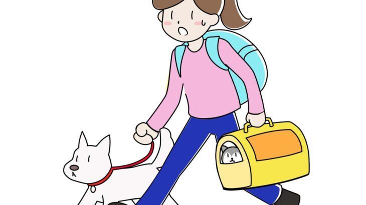 自分とペットの命を守るために…災害時ペットとどう避難するのが正解?【Q&A】