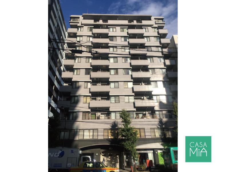 総戸数57世帯の重厚感のある外観デザイン|メゾン文京関口Ⅱ
