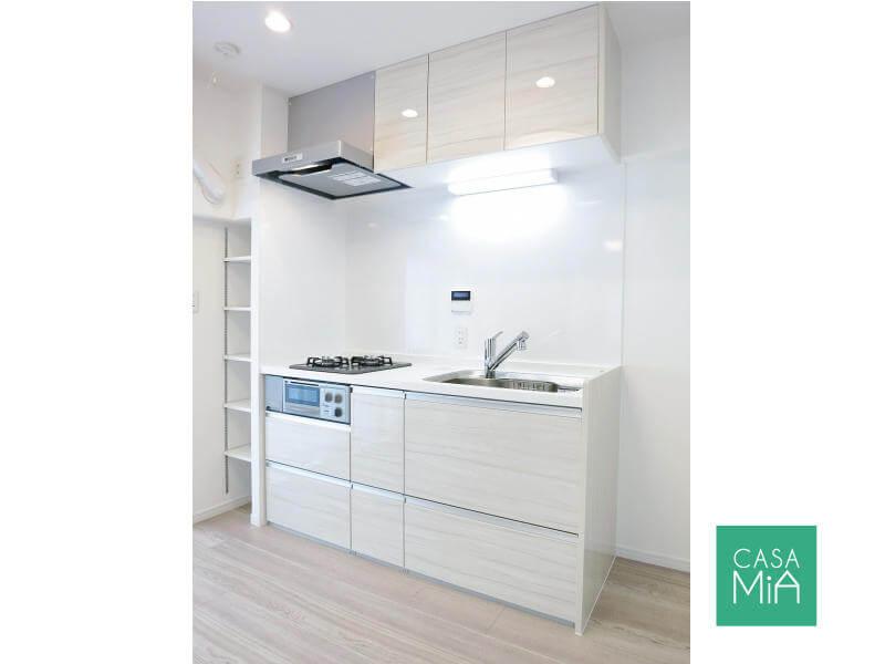 キッチンも新品です(参考写真)|クインズコート新宿