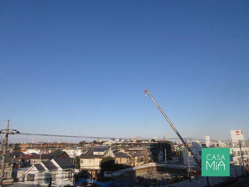 住戸からの眺望。周囲に高い建物がないため、見晴らし良好です|日神デュオステージ浜田山