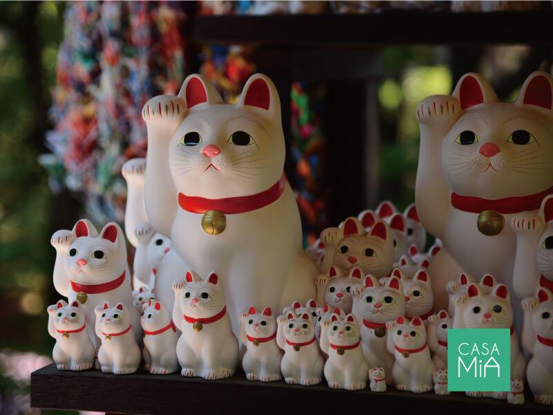 豪徳寺と言えば「招き猫」ですよね|グリーンコート梅ヶ丘