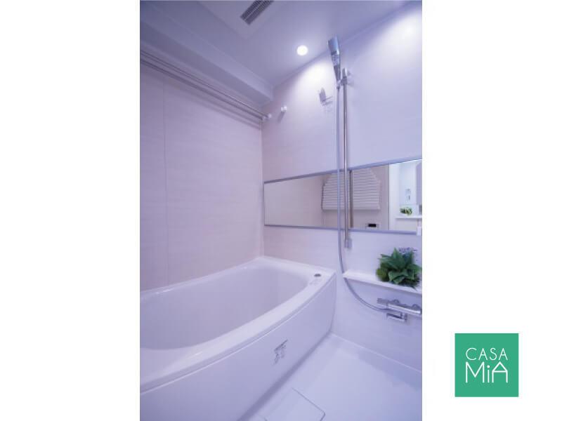 新品のお風呂は浴室乾燥機付き|浴室|グリーンコート梅ヶ丘