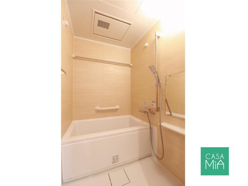 シャワーヘッドがおしゃれなバスルーム|ワールドパレス大井仙台坂