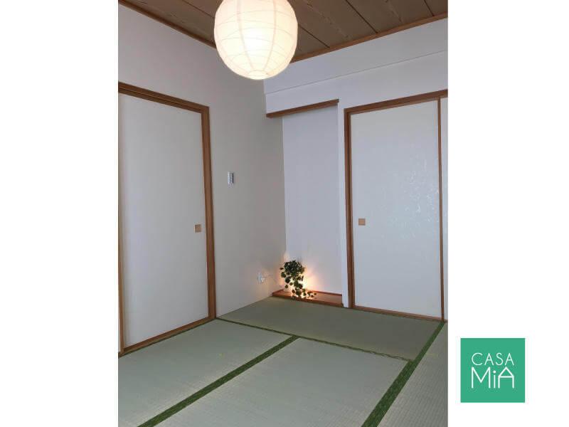 和室はあったほうが便利なので、あえて洋室に変更しませんでした|after|パラッシオ市川中山