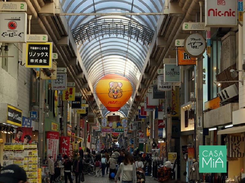 かの有名な「パルム商店街」全長800m、250店舗!|アークス武蔵小山