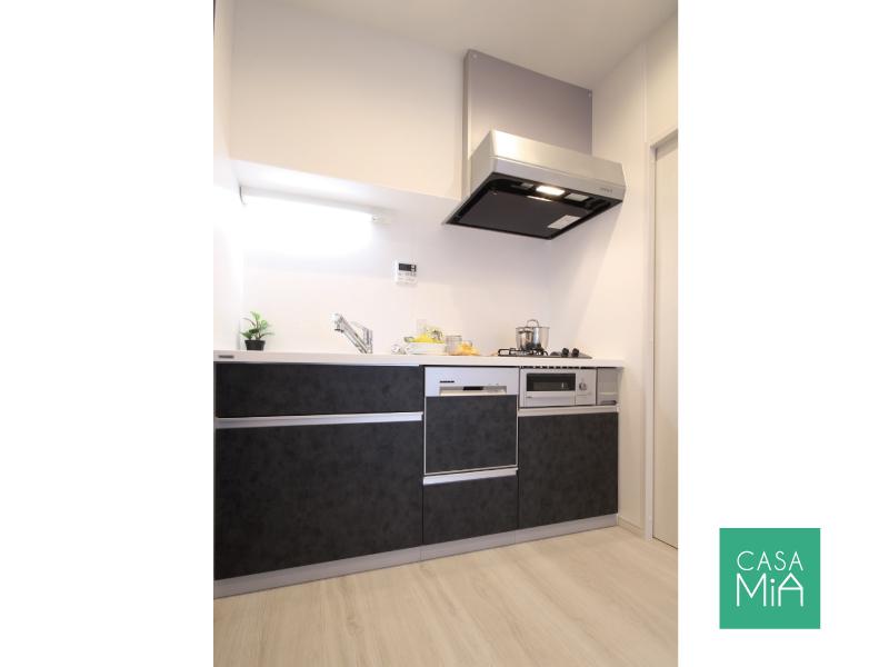 食洗機付の広々キッチン!新しいのも嬉しいです!|アークス武蔵小山