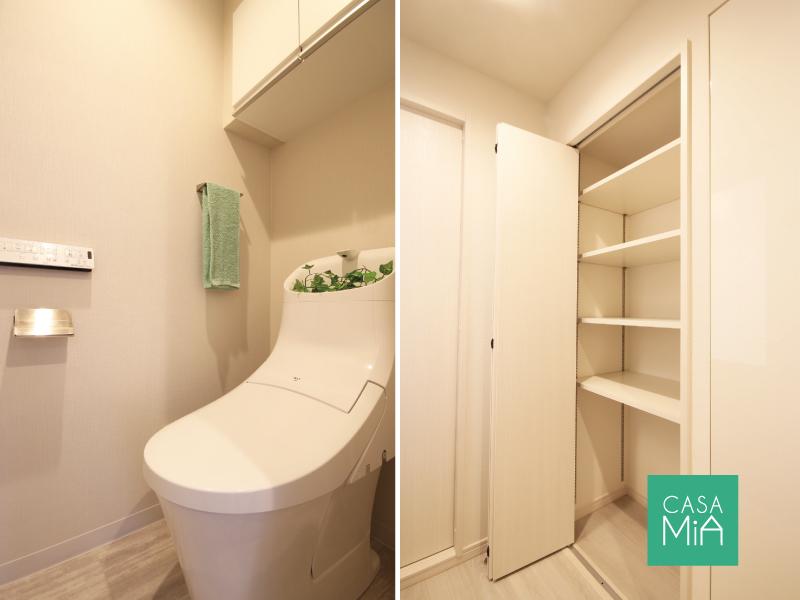 トイレと廊下収納、新しいとテンション上がります|アークス武蔵小山